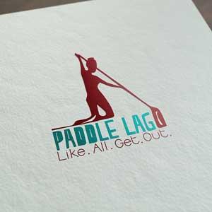Paddle LAGO Graphic Design (Logo design)